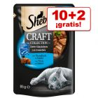 Sheba Craft Collection 12 x 85 g en oferta: 10 + 2 ¡gratis!