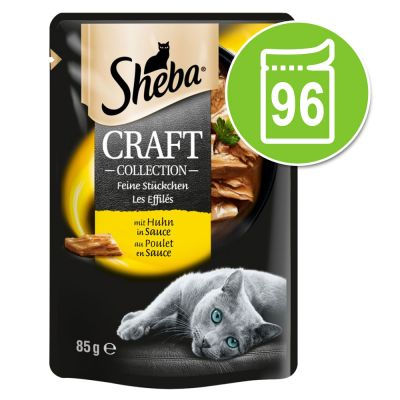 Sheba Craft Collection 96 x 85 g - Megapack Ahorro