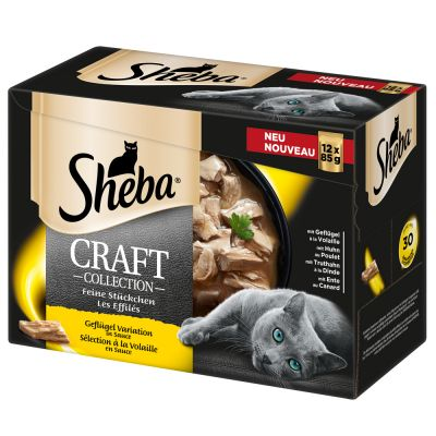 Sheba Craft Collection 24 x 85 g - Pack Ahorro