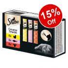 Sheba Creamy Cat Snacks Multipack - 15% Off!*