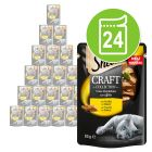 Sheba kattenvoer Craft Collection Pack 24 x 85 g