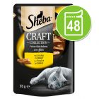 Sheba kattenvoer Craft Collection Pack 48 x 85 g