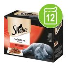 Sheba Selection i saus 12 x 85 g porsjonsposer
