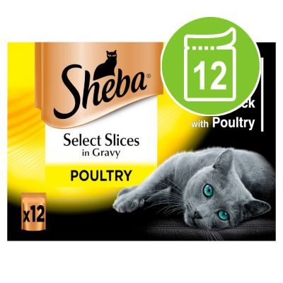 Sheba Selection in Gravy Pouches 12 x 85g