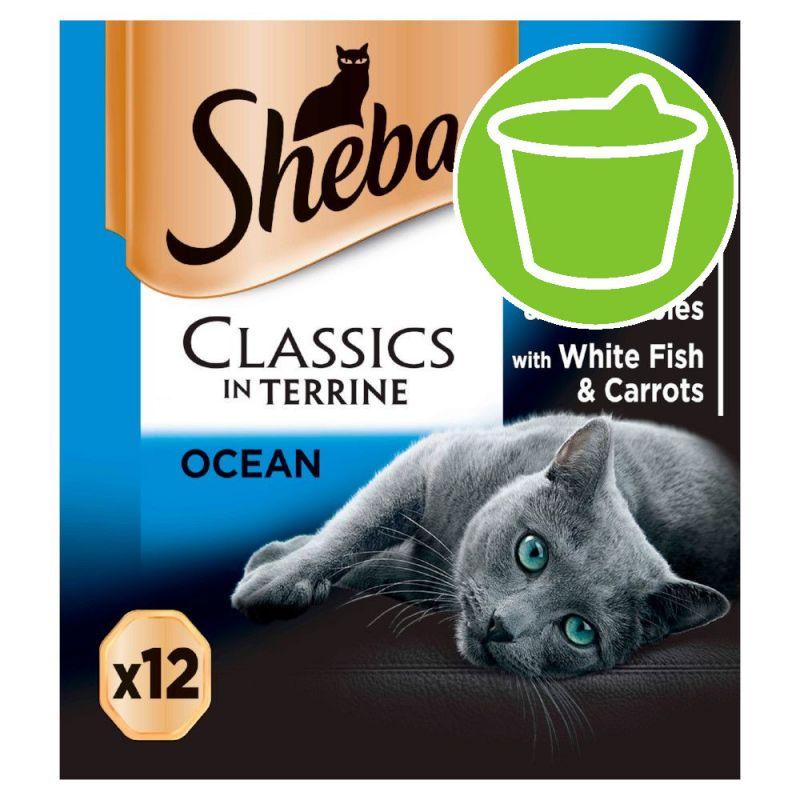 Sheba Varieties Multipack 12 x 85g