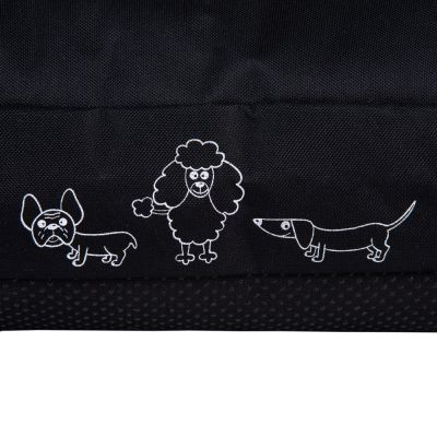 Silhouettes Black Dog Cushion