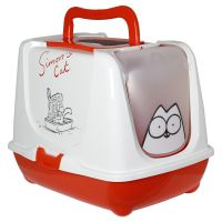 Simon's Cat Hooded Filter Litter Tray