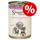 Simpsons Premium Puppy Tacchino, Anatra & Selvaggina