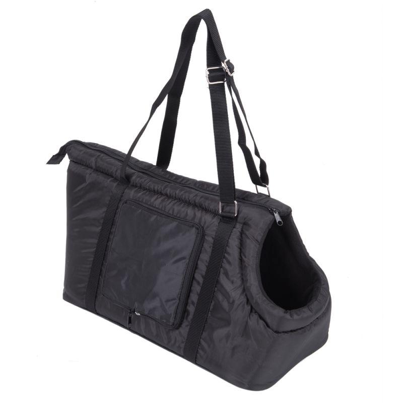 Sleek Nylon Travel Bag