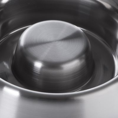 Slow Eating Bowl – Stainless Steel