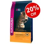 Small Bags Eukanuba Dry Cat Food - 20% Off!*
