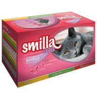 Smilla Adult Sterilised Pouches Mixed Pack