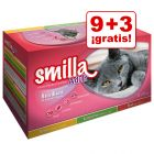 Smilla Adult Sterilised 12 x 85 g oferta: 9 + 3 ¡gratis!