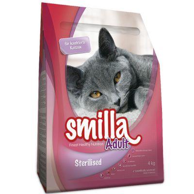 Smilla Dry Cat Food Economy Packs 2 X 4kg Free P Amp P 163 29