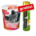 Smilla Toothies lub Hearties, 3 x 125 g + Cosma Original Snackies XXL, kurczak 30 g gratis!