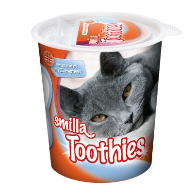 Smilla Toothies snacks para el cuidado dental de los gatos