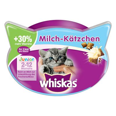 Snack per gattini Whiskas Milk