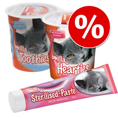 Snackpaket: Smilla Hearties + Toothies + Paste