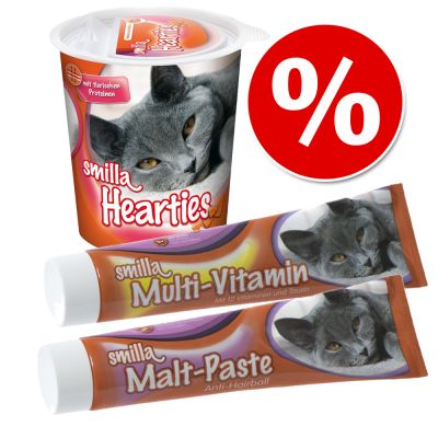 Snackpaket: Smilla Multi-Vitamin & Malt Paste + Hearties