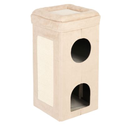 Soft'n Scratchy Collapsible Cat Tower