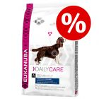 Spar 15% på Eukanuba Daily Care & Breed tørfoder!
