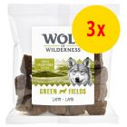 Sparepakke 3 x 180 g Wolf of Wilderness Ulvebidder