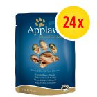Sparpack: Applaws Cat Pouches kattmat 24 x 70 g