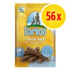 Sparpack: Barkoo Dental Snacks, 8 påsar à 7 st