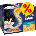 Sparpack: Latz Crunchy Crumbles 40 x 100 g + 160 g topping