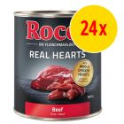 Sparpack: Rocco Real Hearts 24 x 800 g