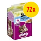 Sparpack: Whiskas Fresh Menue 72 x 50 g