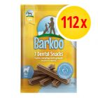 Sparpaket Barkoo Dental Snacks 112 Stück