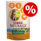 Sparpaket IAMS Naturally Cat Adult 2 x 2,7 kg