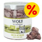 Sparpaket Wolf of Wilderness - Gefriergetrocknete Premium-Snacks