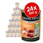 Sparpaket Animonda GranCarno Sensitive 24 x 400 g