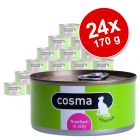 Sparpaket Cosma Original in Jelly 24 x 170 g