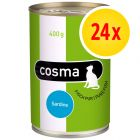 Sparpaket Cosma Original in Jelly 24 x 400 g