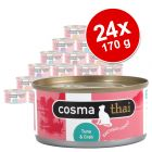 Sparpaket Cosma Thai in Jelly 24 x 170 g