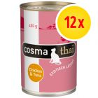 Sparpaket Cosma Thai in Jelly 12 x 400 g