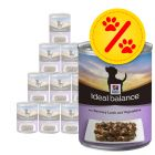 Sparpaket: Hill's Canine Ideal Balance Adult 12 x 363 g