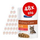 Sparpaket Hill's Prescription Diet Feline Pouch 48 x 85 g