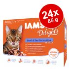Sparpaket IAMS Delights 24 x 85 g