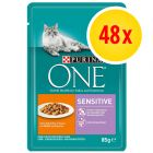 Sparpaket Purina ONE 48 x 85 g