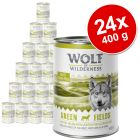 Sparpaket Wolf of Wilderness Adult 24 x 400 g