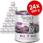 Sparpaket Wolf of Wilderness Senior 24 x 800 g