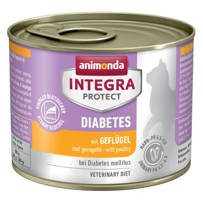 Sparpaket: 12 x 200 g Animonda Integra Protect Adult Diabetes Dose