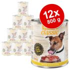 Sparpaket zooplus Classic 12 x 800 g