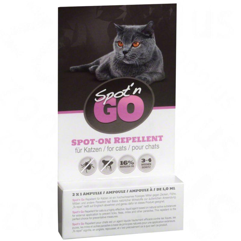 Spot'n Go fästingskydd för katter