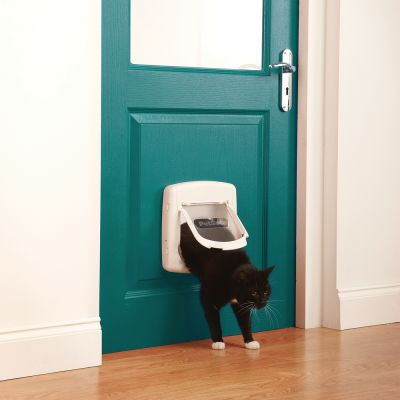 Staywell 300 Deluxe 4-Way Cat Flap