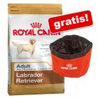 Stor pose Royal Canin Breed + Waterproof travel skål gratis!